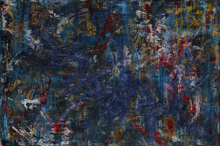 How To Disappear Completely pictura semnata de artistul vizual Florin Constantinescu