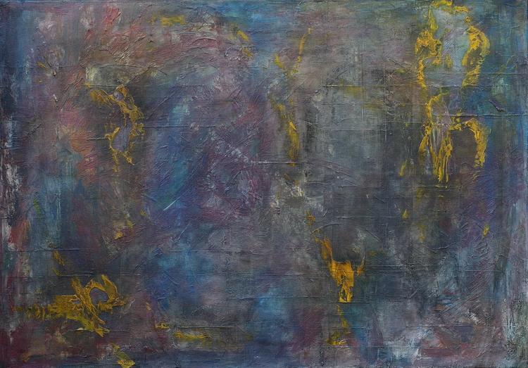 ELADA pictură de semnată de artistul vizual Florin Constantinescu