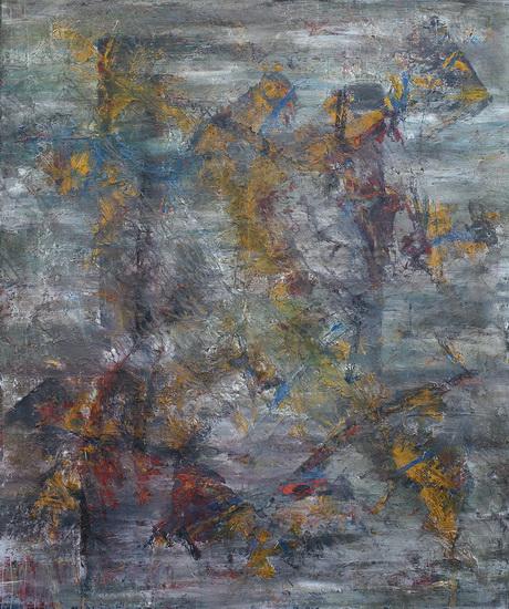 pictura semnată de Florin Constantinescu artist vizual
