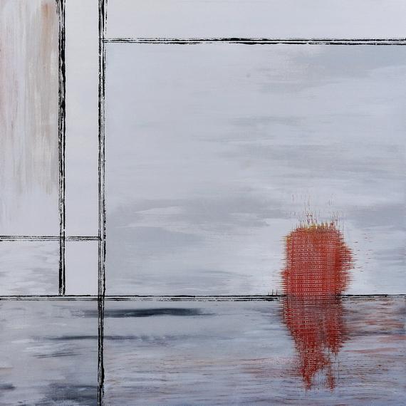 insula pictura semnata de artistul vizual Florin Constantinescu